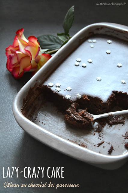 Recette facile gâteau  au chocolat vegan / DF sans oeuf, sans lait, sans beurre - muffinzlover.blogspot.fr