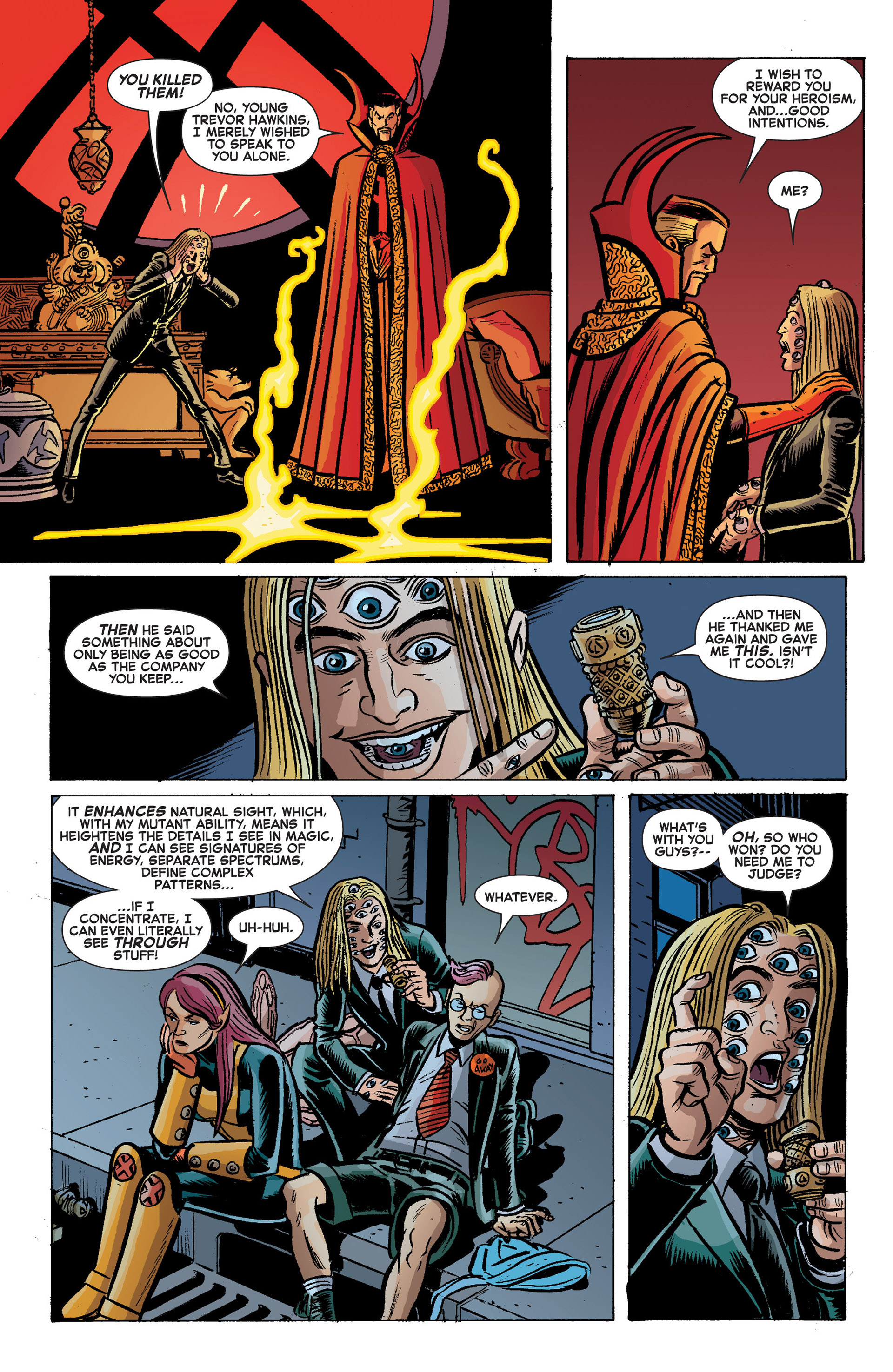 Read online A X comic -  Issue #9 - 21