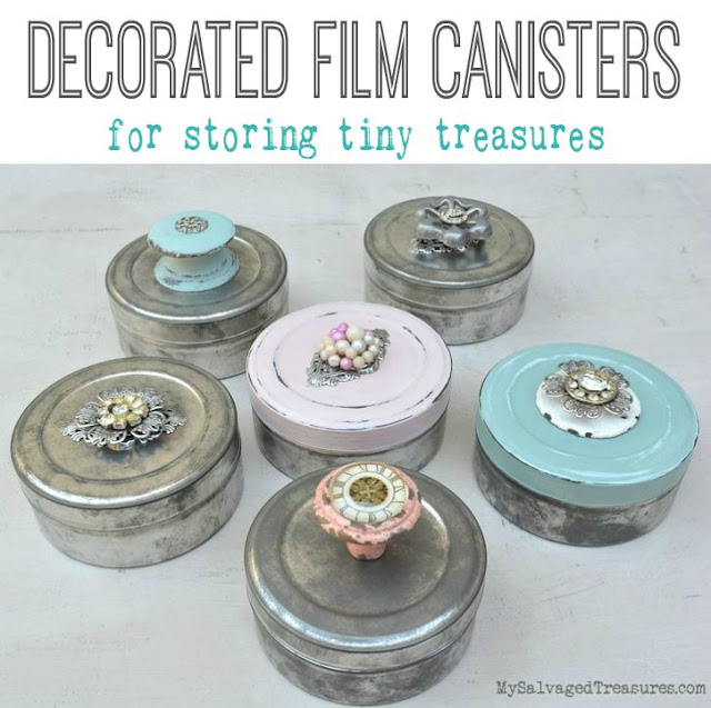 Decorated film canisters
