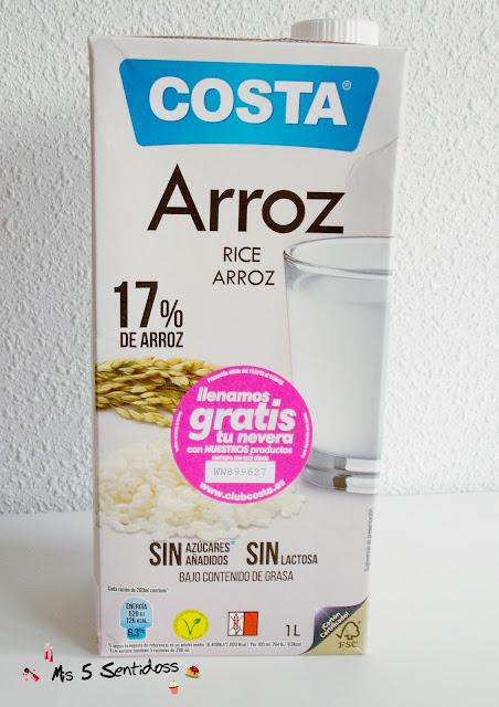 Costa leche de arroz