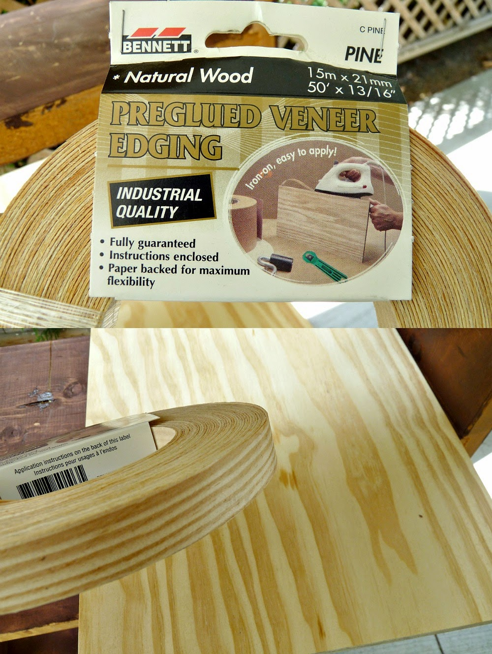How to apply edge band to plywood