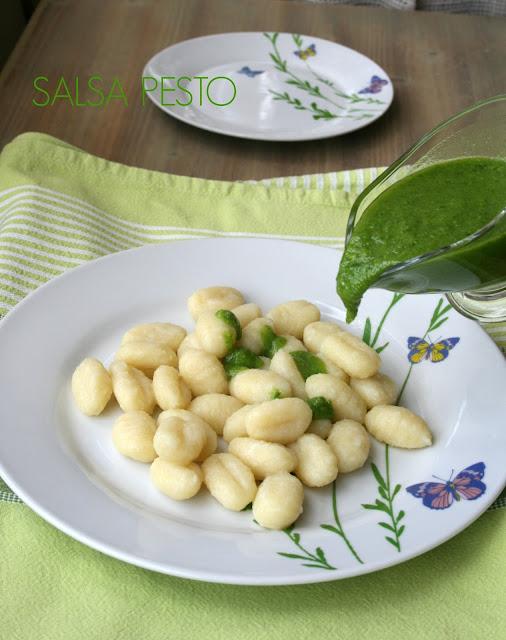 salsa pesto, albahaca