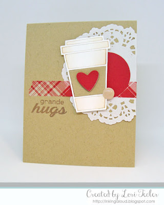 Grande Hugs card-designed by Lori Tecler/Inking Aloud-stamps and dies from Paper Smooches
