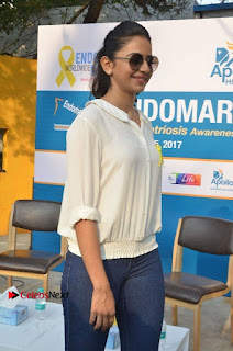 Actress Rakul Preet Singh at Endometriosis Awareness Walk at Apollo Cradle  0041.jpg