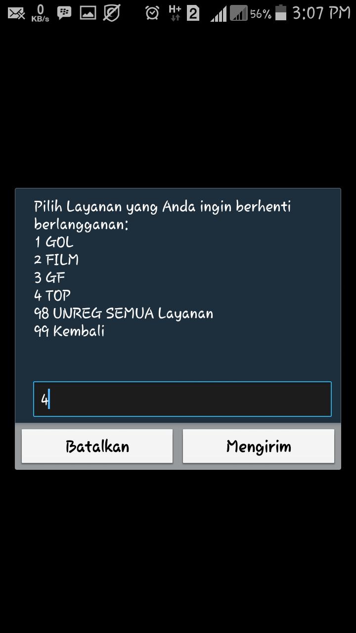 Cara UNREG Konten Layanan Sms Penyedot Pulsa Indosat IM3 ...