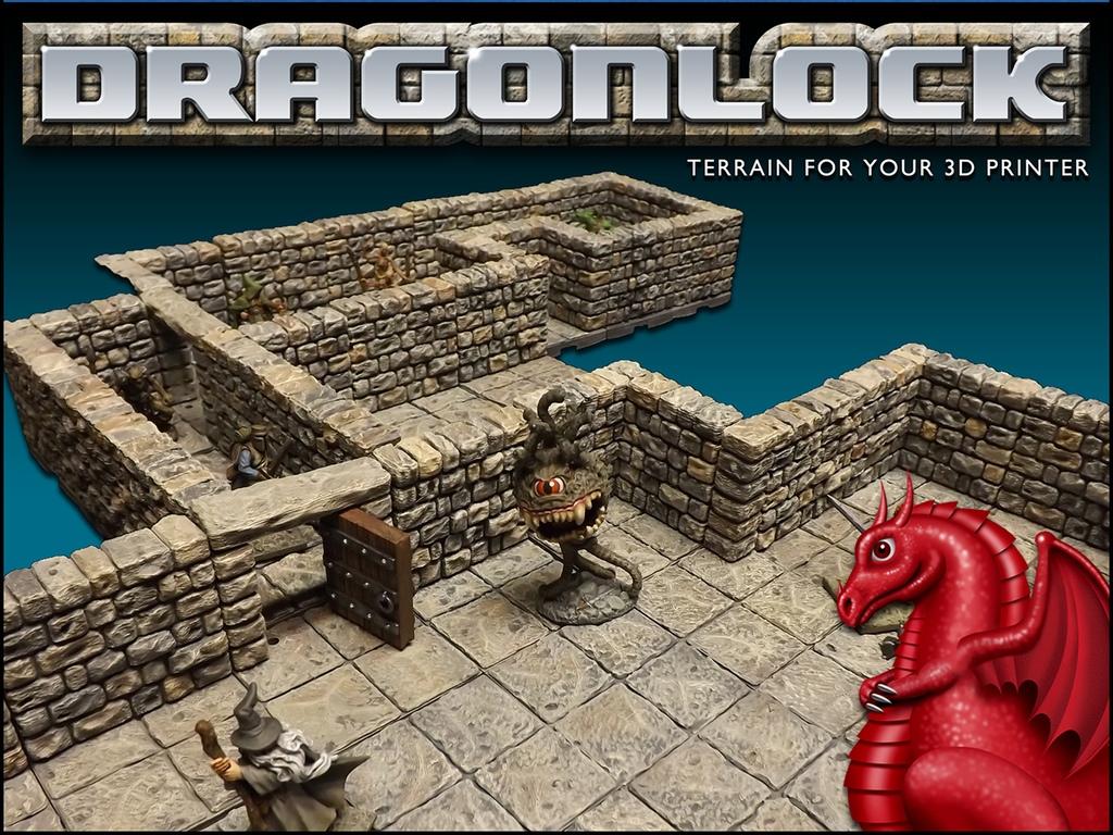 Tabletop Fix: Fat Dragon Games - DRAGONLOCK 28mm Scale