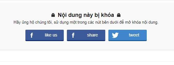 Share post Facebook để mở khóa nội dung bằng cách sử dụng jQuery & Facebook API cho blogspot