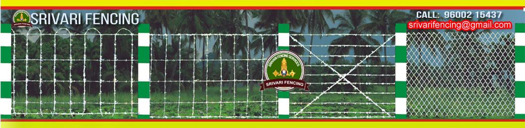 Fencing Contractors Here the best Barbed Wire Fencing near you? Fencing Contractors inTamil Nadu