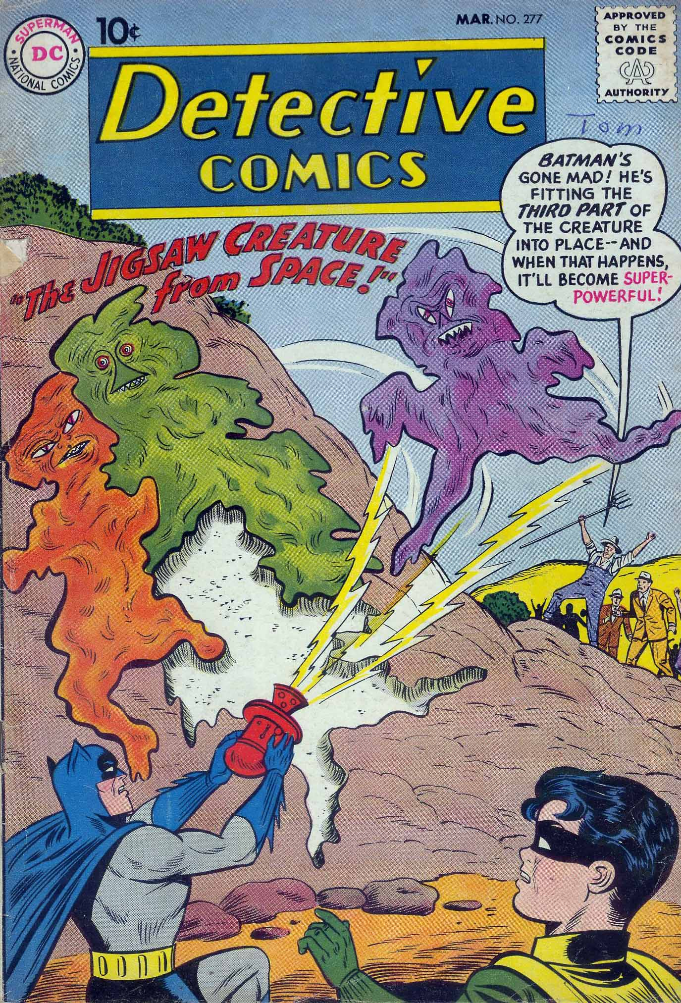 Detective Comics (1937) 277 Page 1
