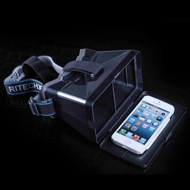Kính thực tế ảo xem phim 3D dành cho điện thoại