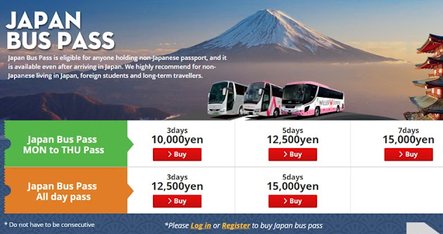 japan willer bus pass