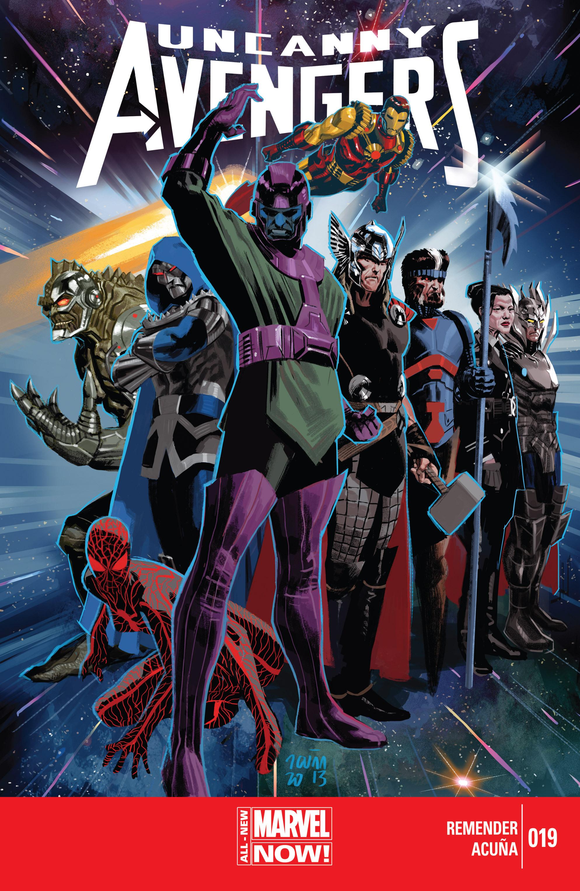 Read online Uncanny Avengers (2012) comic -  Issue #19 - 1