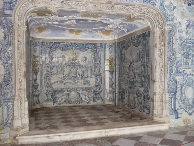 Camino nel palazzo nacional de Sintra