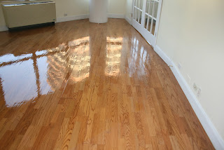 Dustless Hardwood Floor Refinishing After