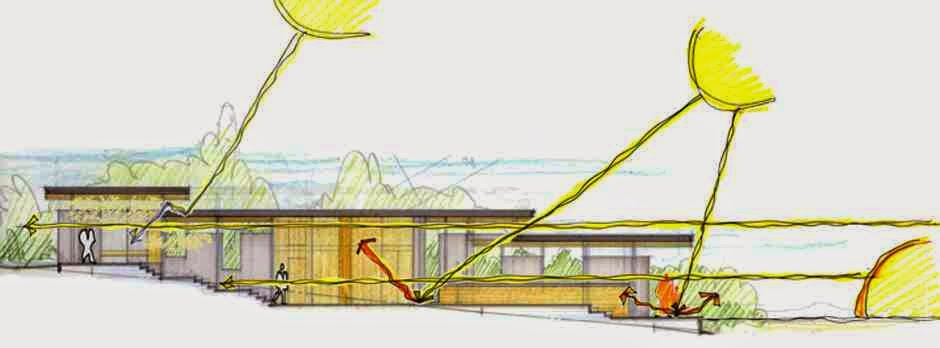 Lighting Architecture Diagram Exploded Axon Digital Realisation And Creative Industries Well Orientated Buildings Maximise Daylighting Through Building Facades Reducing The Need For Artificial That Sunlight Are
