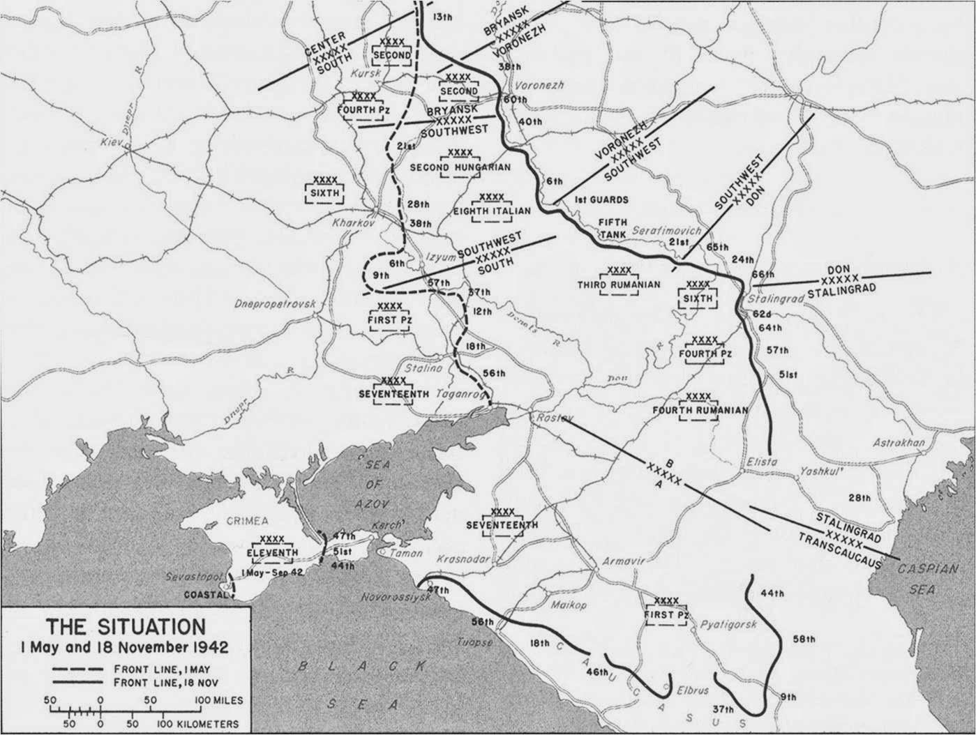 Eastern Front November 18, 1942