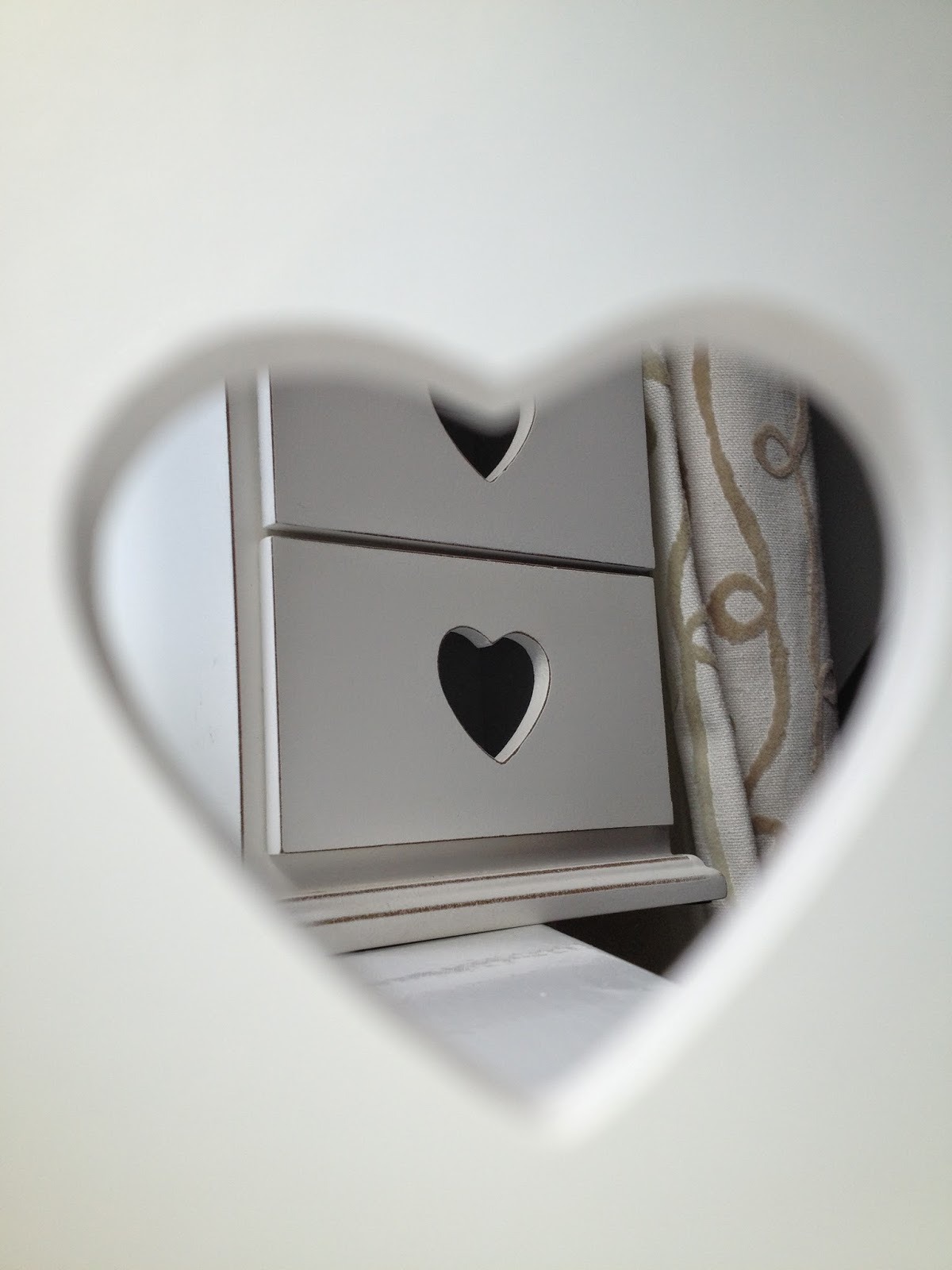 Homeware Haul: Heart Drawer || Life as a Petite