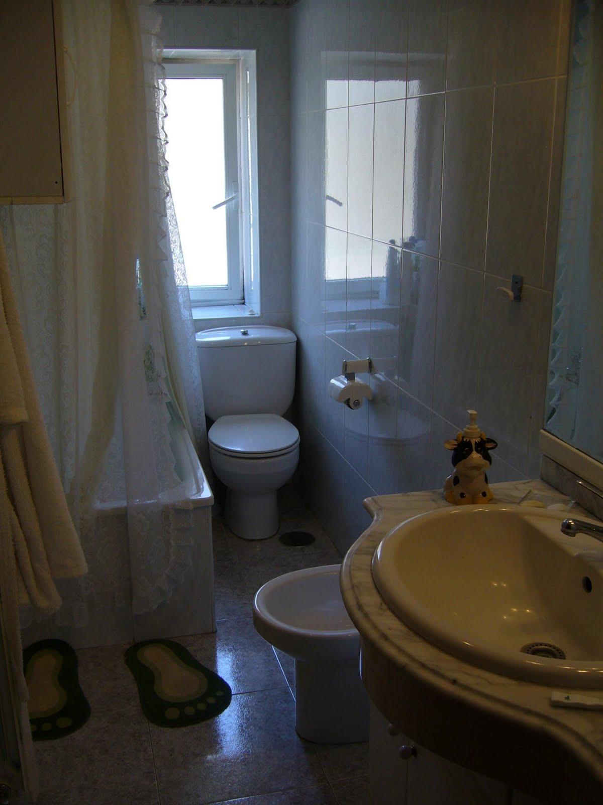 Dise o de ba os peque os con ducha alargados y con for Diseno de banos pequenos con ducha
