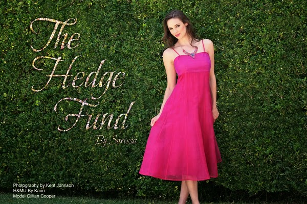 The Hedge Fund - Shooting Fashion at a Garden Location by Kent Johnson.