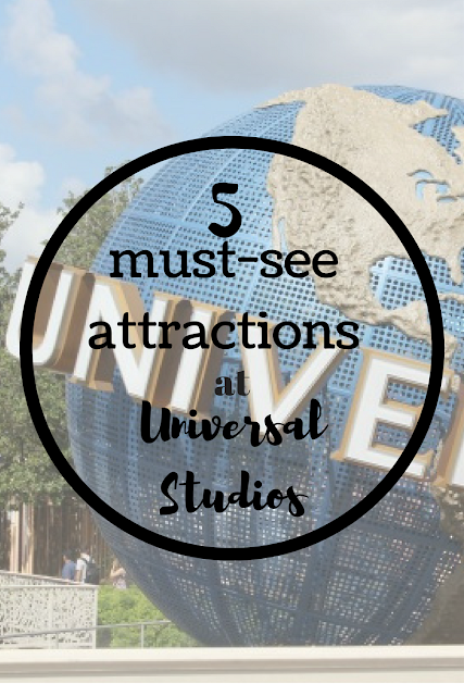 5 must-see attractions at Universal Studios, Orlando. Nourish ME: www.nourishmeblog.co.uk
