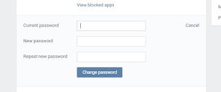 masukan password baru
