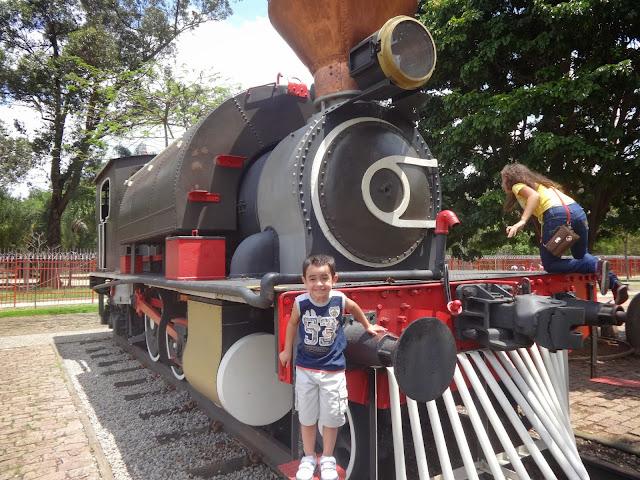 Locomotiva - Museu Catavento
