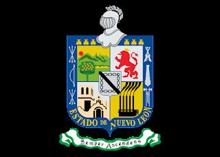 Escudo del Estado de Nuevo Leon Logo Vector