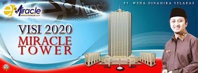 Gedung e-Miracle Tower Yusuf Mansur