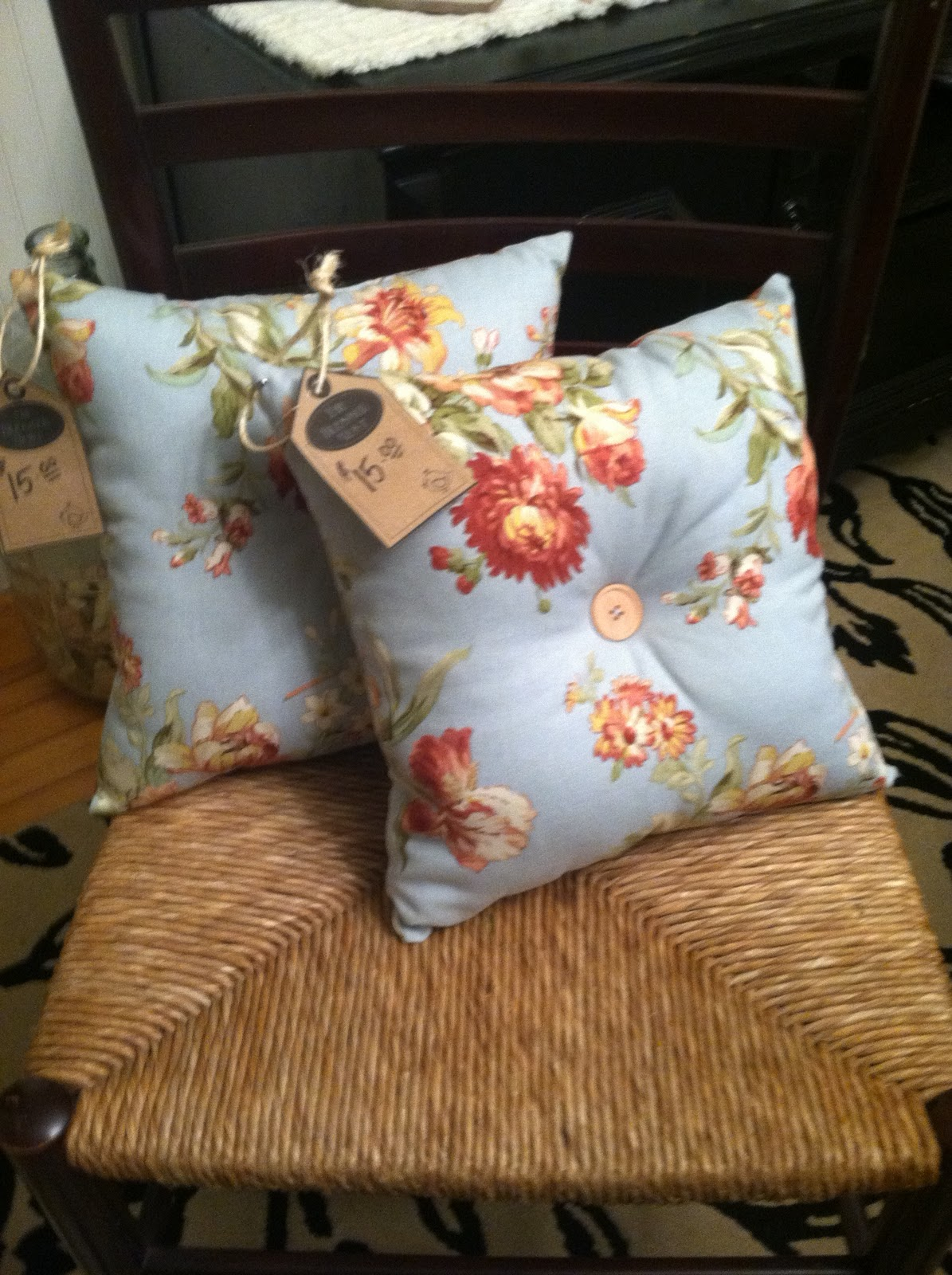 The Blessed Nest: Currently For Sale: Homemade Pillows!