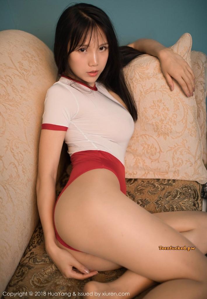 HuaYang 2018 10 11 Vol.088 Li Ke Ke MrCong.com 029 wm - HuaYang Vol.088: Người mẫu Li Ke Ke (李可可) (45 ảnh)
