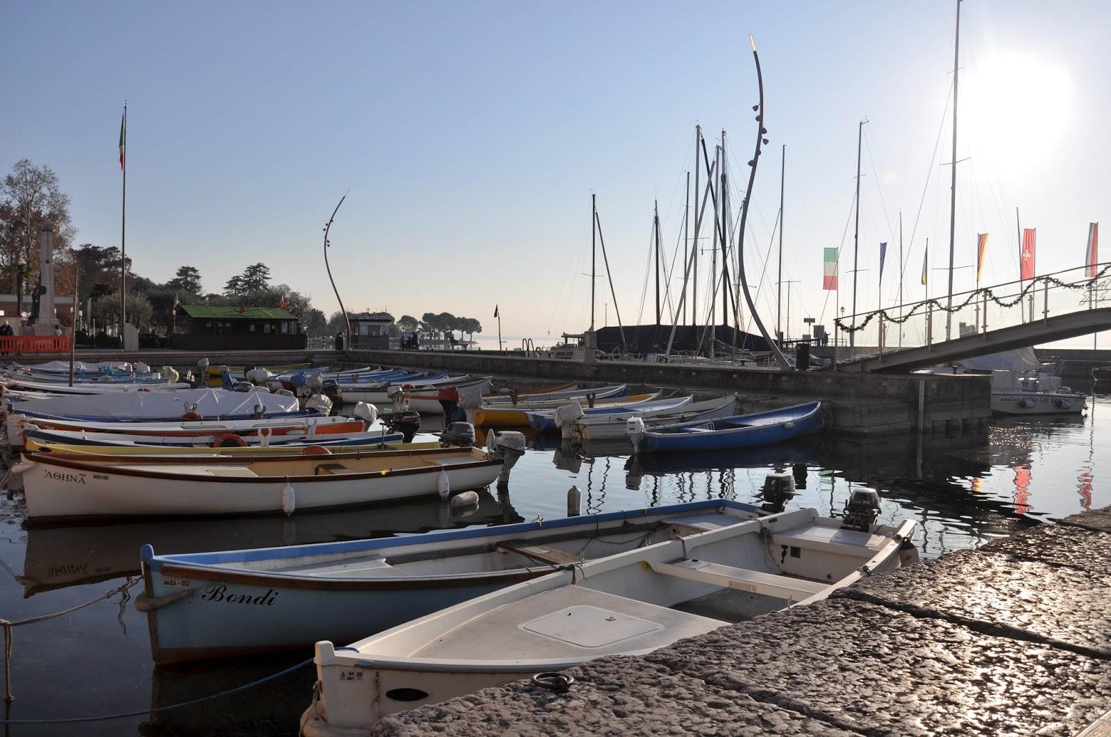Boats, Bardolino, Lake Garda, Italy