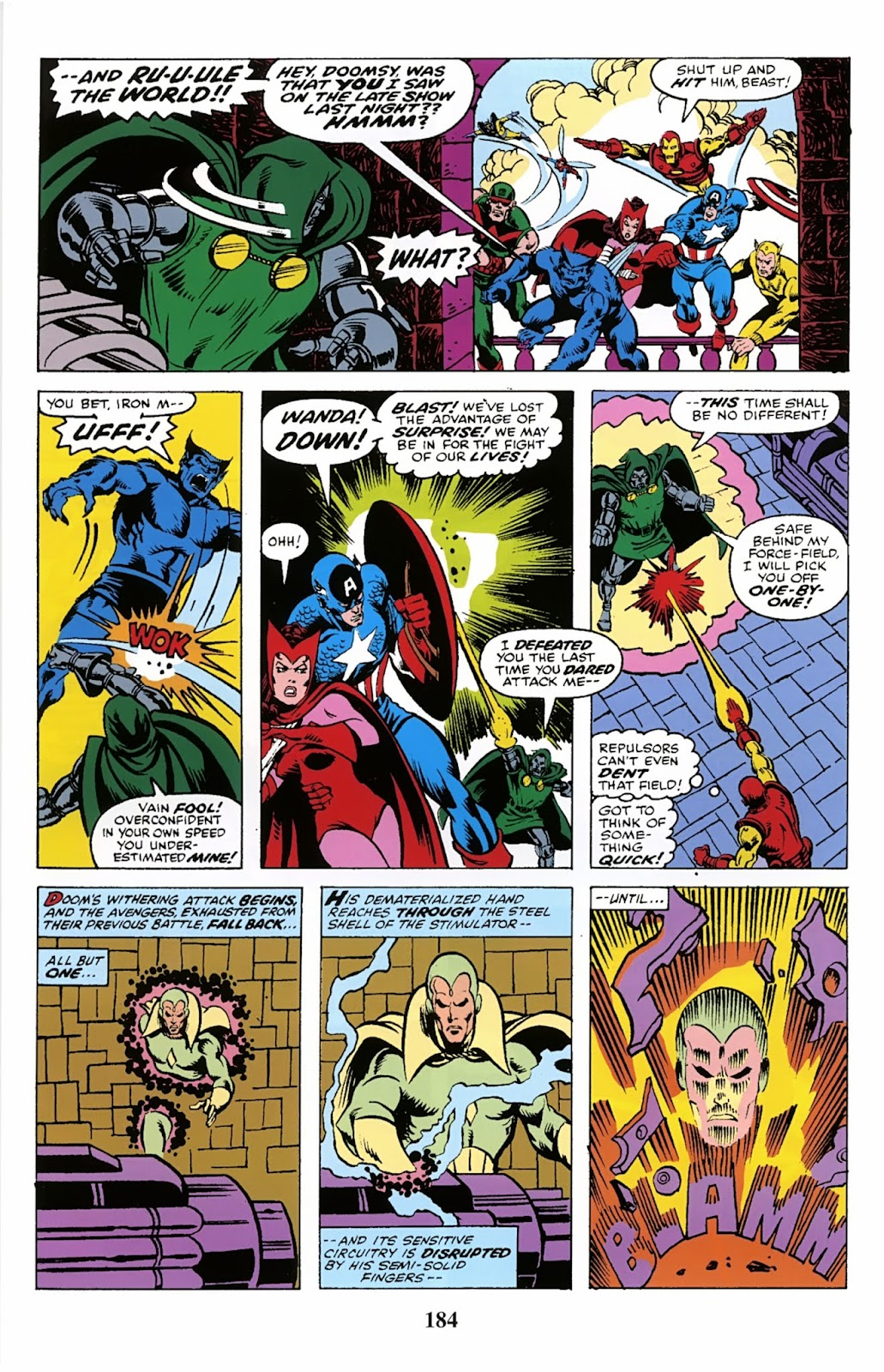 Read online Avengers: The Private War of Dr. Doom comic -  Issue # TPB (Part 2) - 85