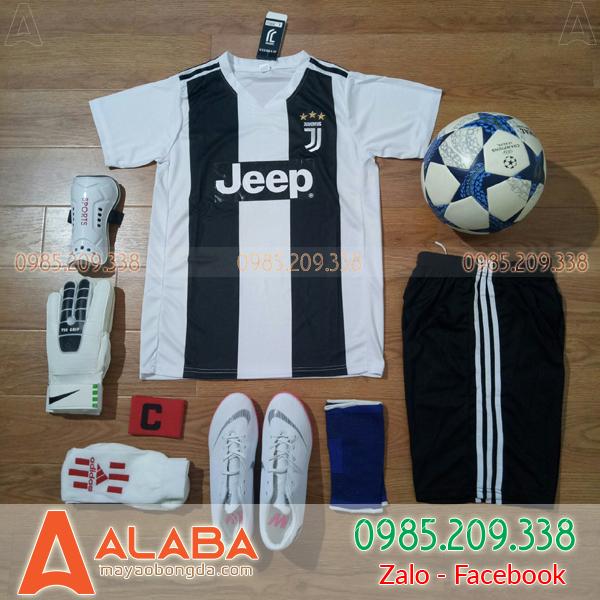 Áo Juventus 2018 Màu Trắng Đen