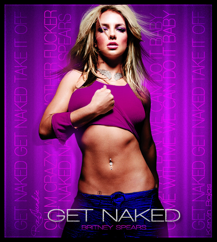 Britney cover naked spear