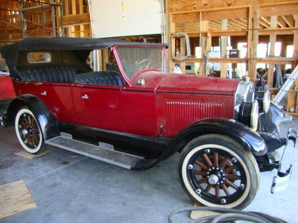 1927 Buick Convertible Auto Restorationice