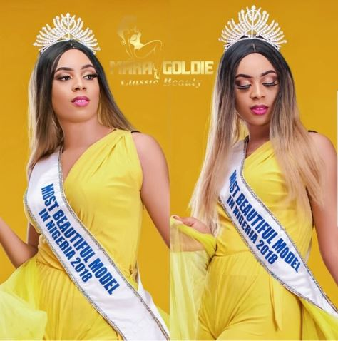 Big Surprise! Beauty Queen Spotted Cleaning The Streets In Rivers (Photos)