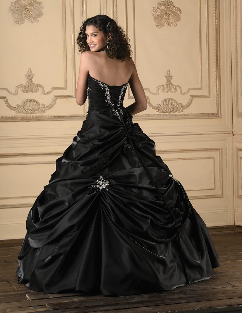 Black Cocktail Wedding Dresses Designs