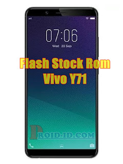Cara Flashing Vivo Y71 PD1731F