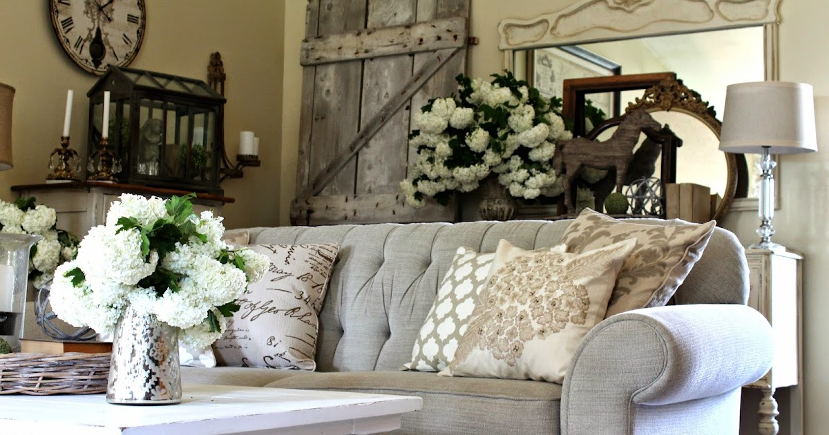 allen shabby chic rustic living room design | The Fancy Shack: New Living Room Furniture--