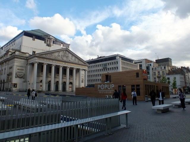 por el centro de bruselas