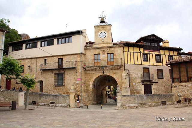 Poza de la Sal, uno de los pueblos más bonitos de Burgos