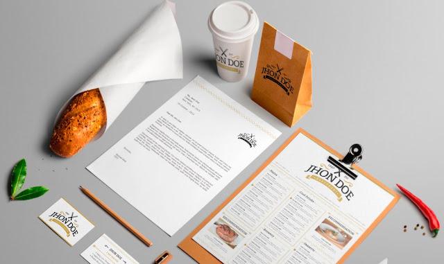 Elegante pack para identidad de marca