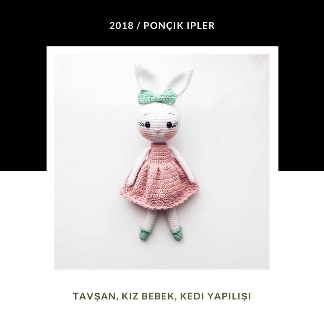 Amigurumi uzun kulak tavşan yapımı | Amigurumi modelleri, Desenler ... | 1080x1080