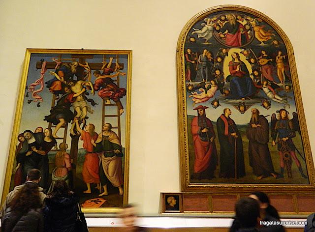 """""""A Deposição da Cruz"""", de Filippino Lippi na Galleria dell'Accademia, Florença"""