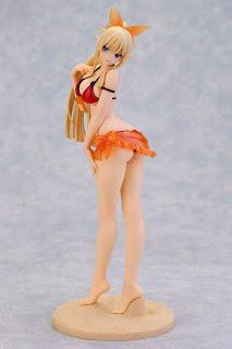 "Kirika Towa Alma Shining Beach Heroines Crimson Swimsuit ver. de ""Shining Resonance"" - Alphamax"