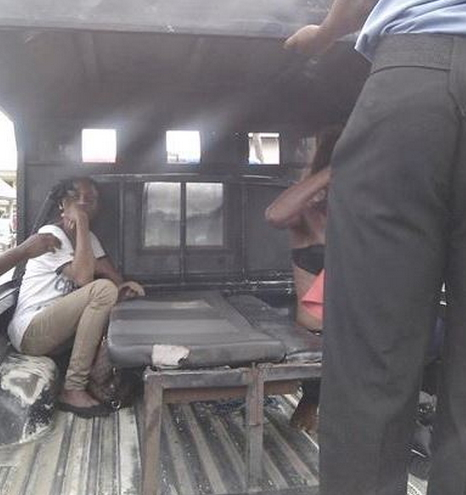 female robbers arrested akwa ibom
