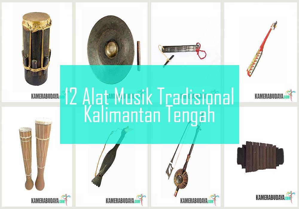 Inilah 12 Alat Musik Tradisional Dari Kalimantan Tengah