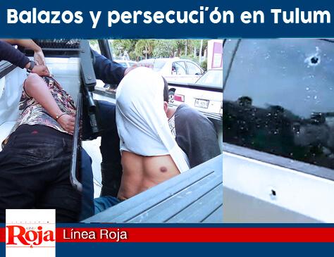 Retorna la violencia en Tulum. Intentan ejecutar a un hombre frente al palacio municipal. Los agresores fueron detenidos