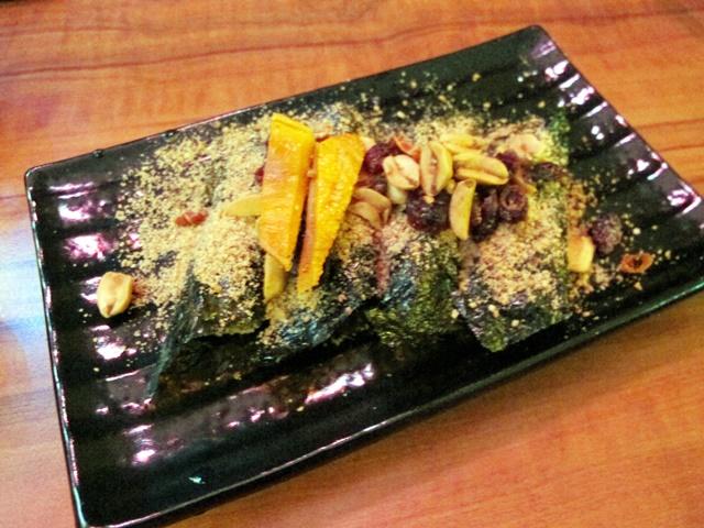 菁串鹽烤海苔麻糬