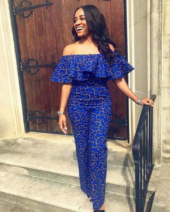 latest ankara jumpsuit styles